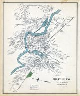 Milford Town, New Hampshire State Atlas 1892