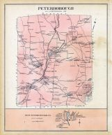 Peterborough, Peterbprough West, New Hampshire State Atlas 1892