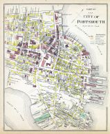 Portsmouth 3, New Hampshire State Atlas 1892