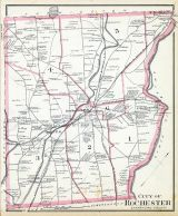 Rochester - Wards 1 2 3 4 5 6, New Hampshire State Atlas 1892
