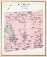 Strafford, New Hampshire State Atlas 1892