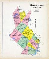 Strafford County, New Hampshire State Atlas 1892
