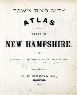 New Hampshire State Atlas 1892