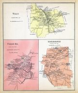 Troy, Troy Town, Marlborough, New Hampshire State Atlas 1892