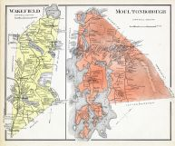 Wakefield, Moultonborough, New Hampshire State Atlas 1892