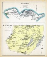 Windham, Newcastle Village, New Hampshire State Atlas 1892