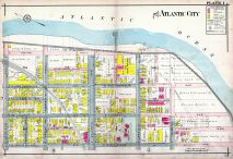 Plate 001, Atlantic City 1908 Absecon Island - Ventnor - South Atlantic City - Longport