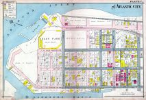 Plate 007, Atlantic City 1908 Absecon Island - Ventnor - South Atlantic City - Longport