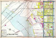 Plate 012, Atlantic City 1908 Absecon Island - Ventnor - South Atlantic City - Longport
