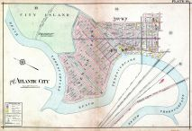 Plate 014, Atlantic City 1908 Absecon Island - Ventnor - South Atlantic City - Longport