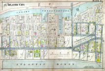 Plate 016, Atlantic City 1908 Absecon Island - Ventnor - South Atlantic City - Longport