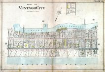 Plate 018, Atlantic City 1908 Absecon Island - Ventnor - South Atlantic City - Longport