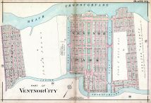 Plate 020, Atlantic City 1908 Absecon Island - Ventnor - South Atlantic City - Longport