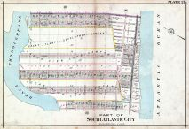 Plate 021, Atlantic City 1908 Absecon Island - Ventnor - South Atlantic City - Longport