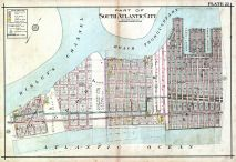 Plate 022, Atlantic City 1908 Absecon Island - Ventnor - South Atlantic City - Longport