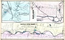 Allendale, Oakland, Saddle River Valley, Bergen County 1876