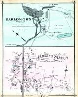 Darlington, Ramseys Station, Bergen County 1876