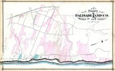 Palisade Land Co. Property Map, Bergen County 1876