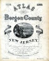 Title Page, Bergen County 1876
