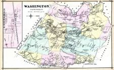 Washington Township, Kinderkamack, Bergen County 1876