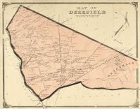 Deerfield Township, Cumberland County 1876