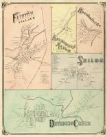 Fairton Village, Manamuskin Manor, Marshallville, Shiloh, Dividing Creek, Cumberland County 1876
