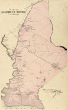 Maurice River New Jersey 1956 US Geological Survey Topographic Map \u2013 Cumberland NJ Antique Port Elizabeth Cape May County Commercial