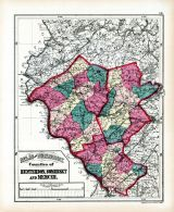 Hunterdon, Somerset and Mercer Counties, Hudson County 1873