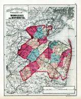 Middlesex and Monouth Counties, Hudson County 1873