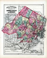 Morris, Passaic and Bergen Counties, Hudson County 1873