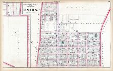 Plate A - Union Town - Northern Part, Hudson County 1873
