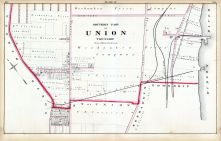 Plate B - Union Township - Southern Part, Hudson County 1873