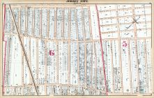 Plate R - Jersey City, Hudson County 1873