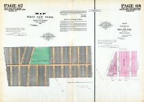 New York West 1855 2 - Pages 67 and 68, Hudson County 1882 Vol 1