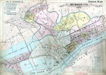 Index Map, Hudson County 1909 Vol 2 Excluding Jersey City