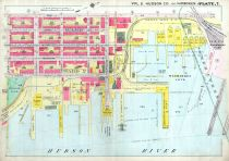 Plate 007 - Hoboken, Hudson County 1909 Vol 2 Excluding Jersey City