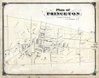 Princeton Plan of, Mercer County 1875