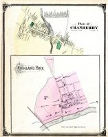 Cranberry, Highland Park, Middlesex County 1876
