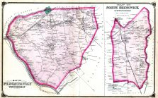 Piscataway Township, North Brunswick Township, Middlesex County 1876