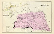 Holmdel Township, Monmouth County 1889