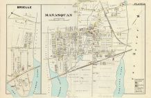Manasquan, Brielle, Monmouth County 1889