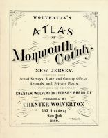 Title Page, Monmouth County 1889