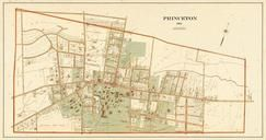 Princeton 1905 Composite from Trenton City and Princeton Atlas - Version 3