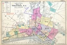 Trenton City and Princeton 1905 New Jersey Historical Atlas on map of mullica township nj, map of lawnside nj, map of farmington nj, map of cliffwood beach nj, map of stafford twp nj, map of pedricktown nj, map of west long branch nj, map of wood-ridge nj, map of hightstown nj, map of sea island nj, map of new jersey, map of cape may courthouse nj, map of haddon twp nj, map of normandy beach nj, map of lafayette nj, map of hudson nj, map of ewing township nj, map of leonardo nj, map of alexandria nj, map of mount vernon nj,