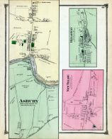 Asbury, New Village, Broadway, Warren County 1874