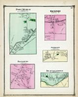 Port Murray,  Rockport, Rocksburg, Anderson, Beatyestown, Warren County 1874