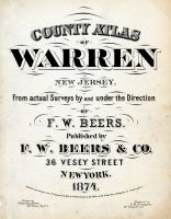Title Page, Warren County 1874