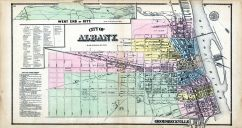 Albany, Groesbeckville, Albany and Schenectady Counties 1866