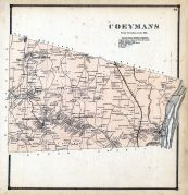 Coeymans, Albany and Schenectady Counties 1866