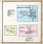 Coeymans Landing, South Bern, Bernville, Albany and Schenectady Counties 1866